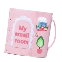 DIY Felt Quiet Books Mom Handmade Kids Picture Craft Kits Package Montessori Early Education Baby Toys My First Book