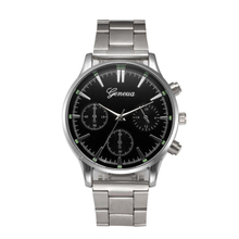 Мода Мужские Часы Кристалл Часы Из Нержавеющей Стали Аналоговый Кварцевые Наручные Часы Браслет оптовая