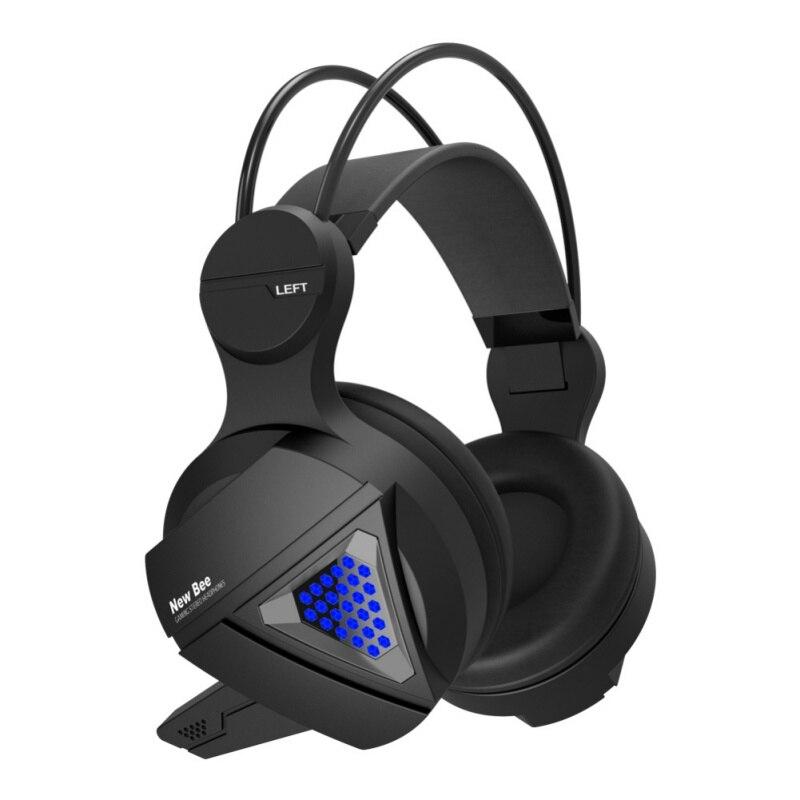 stereo headphone professional studio dynamic stereo dj headphones deep bass computer gaming. Black Bedroom Furniture Sets. Home Design Ideas