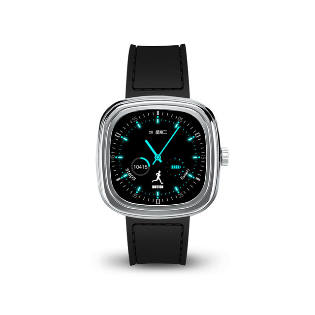 US $49 99 |M2 Smart Watch with SIRI for iphone 6 7 plus Heart Rate Monitor  Bluetooth Smartwatch Touch Screen for Samsung huawei IOS Android-in Smart