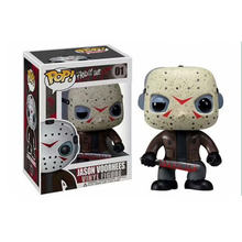 Funko pop Friday the 13th & JASON VOORHEES pvc action Figure Collectible Modelo Toy kids presente(China)