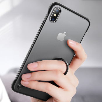 iPhone XS Max Case Ring Clear
