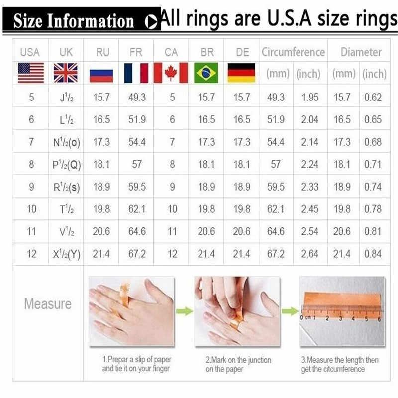 แหวนเงิน 925 แหวนเพชรสมบัติทองคู่ 2 ชิ้นชุดหมั้นคู่ผู้ชายอุปกรณ์เสริม rose B2423