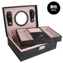 Новый макияж Хранения Jewelry Box, Ящики Для Хранения для Домашнего Украшения, caixas де armazenamento organizador, Коробка Для Хранения организатор