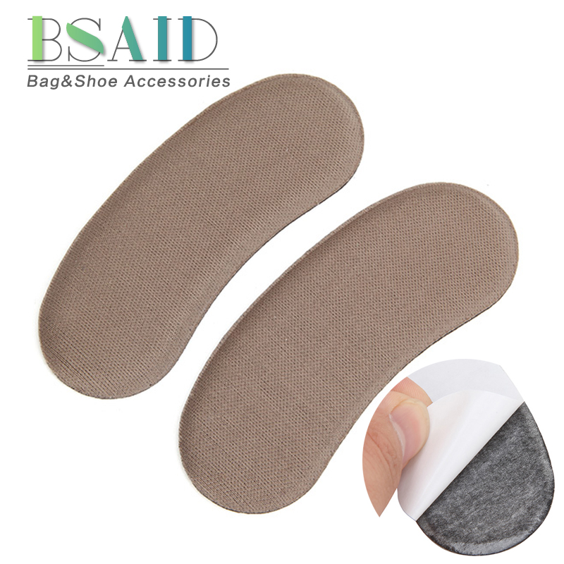 BSAID Feet Protection Insoles For Shoes Women Nude Color Thicken Heel Pads High Heel Flats Back Heel Inserts Protect Foot Pads damen sandalen leder 38