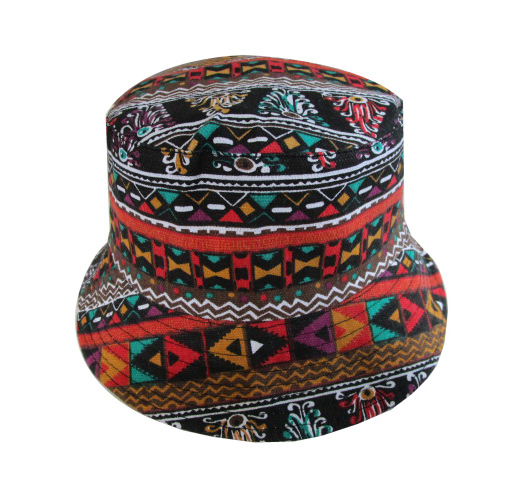 2260e883d8c Free Shipping 2018 New Summer Hip Hop Coloful Aztec Printed Bucket Hats Sun  Caps Fishing Cap Hiking Fishing Hats For Mens Womens-in Bucket Hats from  Apparel ...