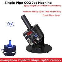 1 шт./лот Профессиональный DJ оборудование одной трубы DMX512 CO2 ткацкий станок стрелять 8 10 м до дым