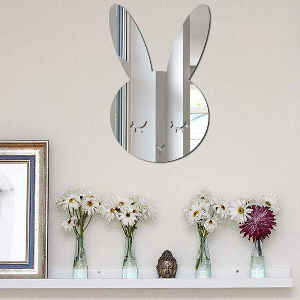 北欧アクリルミラー漫画壁カメラ小道具キッズルームの壁の装飾 espejos decorativos パラパレデス壁ミラーホット販売