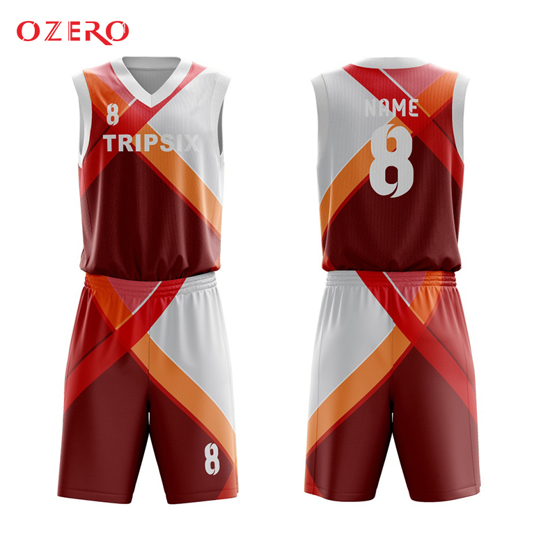 Oem Sublimation Custom Basketball Jersey Maker Basketball