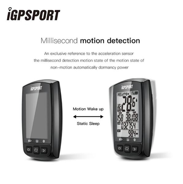 IGPSPORT IGS50E Bike Stopwatch Bicycle Computer IPX7 Waterproof GPS With ANT Bluetooth 4.0 With Mount and Cover