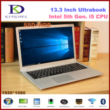 13.3 inch Core i5-5200U Dual Core Mini ultrabook laptop, 8GB RAM 128GB SSD 1T,1080P, WIFI, Bluetooth, Metal Case,Windows 10 F200