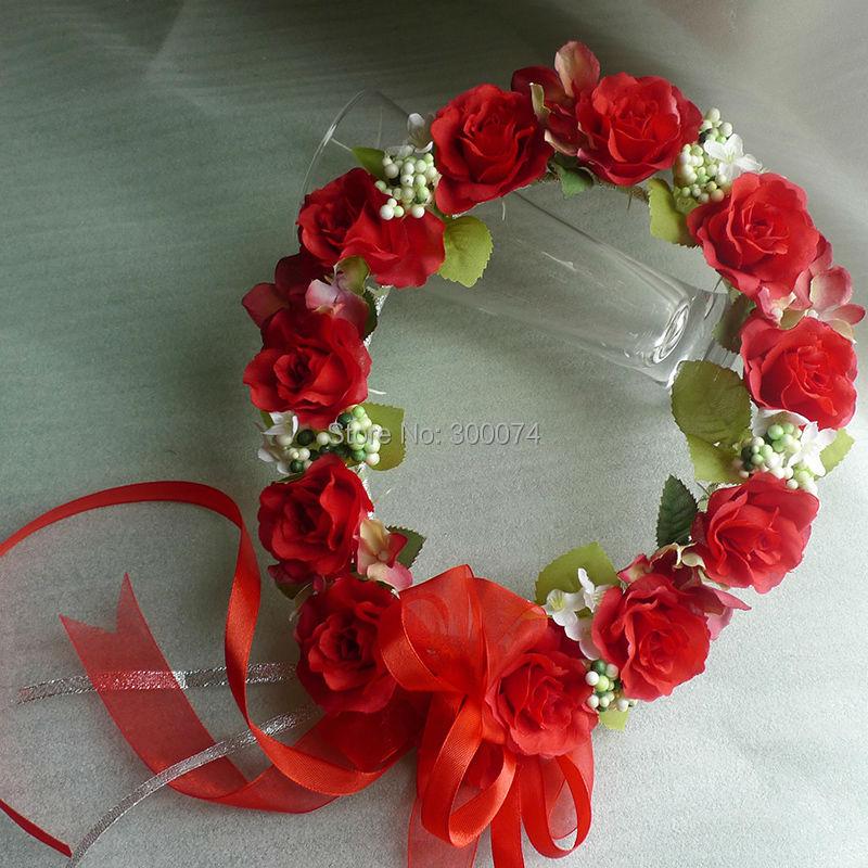 Buy Decorative Flowers Wreaths For Women
