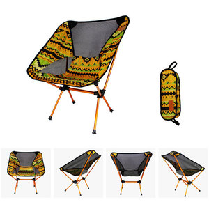 Image 1 - Ultralight Moon Chairs Portable Garden Al Chair Fishing The Director Seat Camping Removable Folding Furniture Indian Armchair