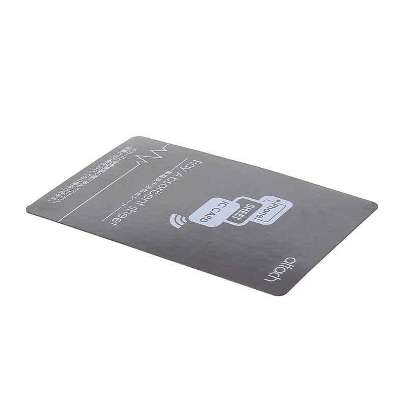 Xám Chống-Kim Loại Magnetic NFC Sticker Paster cho iPhone Điện Thoại Di Động Xe Buýt Kiểm Soát Truy Cập Thẻ IC Thẻ Bảo Vệ Nguồn Cung Cấp