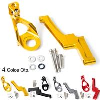 NICECNC Steering Damper Mount Bracket Support Kit For Suzuki GSX1300R Hayabusa GSX 1300R 1300 R 1998 2012 2013 2014 2015