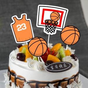 Image 5 - Баскетбольный мяч вечерние принадлежности Оранжевый латексные воздушные шары на день рождения вечерние украшения детский баскетбольный мяч для взрослых арка для воздушных шаров Babyshower для маленьких мальчиков