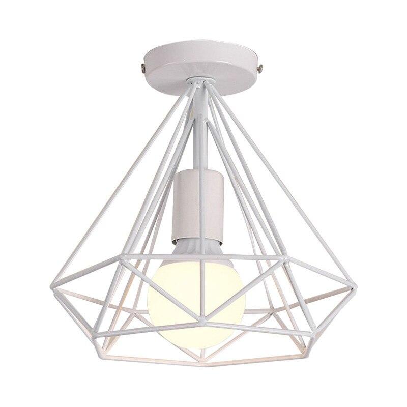 HTB1fyKQX79E3KVjSZFGq6A19XXaK 20cm Vintage Industrial Rustic Flush Mount Ceiling Light Black / White Metal Lamp Fixture Nordic Style Creative Retro Light Lamp