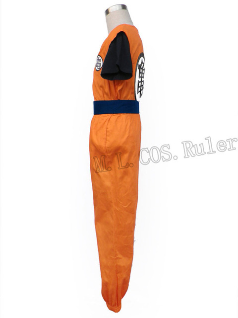 Dragon Ball Z Krillin Cosplay Costume Fancy