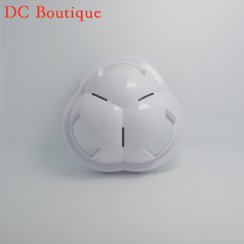 ФОТО (1 pcs) 2262 chip 315MHz Wireless Ceiling PIR Alarm Motion Sensor with Lithium Battery and 360 degree Detecting Angle indoor use