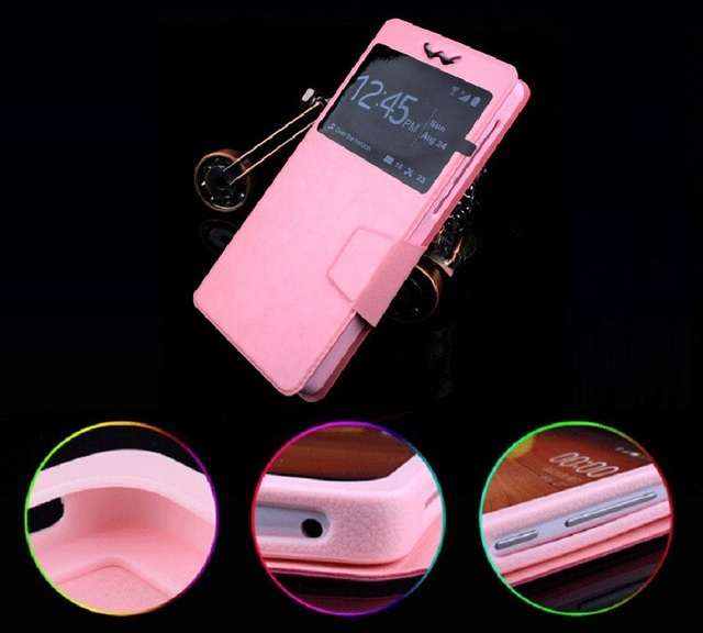 Micromax A107 Case, New Fashion High Quality Leather Silicon for Micromax Canvas Fire 4 A107 Phone Case Free Shipping