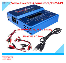2016  iMAX  B6AC  80w  3S Lipo/NiMH RC Digital Battery Balance Charger for Trex 450 Helicopter
