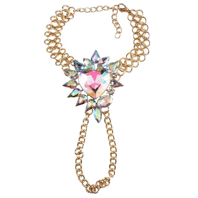 Boho Flowers Anklet Bracelets Statement Jewelry