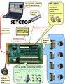 4 eixos CNC USB Cartão Mach3 200 KHz Breakout Placa de Interface Adapter windows2000/xp/vista EMS/DHL/UPS frete grátis
