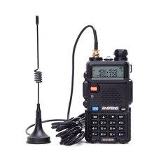 2 pièces antenne talkie walkie avec mini ventouse UHF 400 470mhz pour Baofeng 888S UV5R talkie walkie UHF antenne Baofeng accessoires
