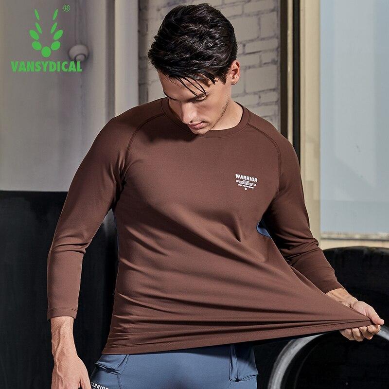 Chemise de Sport hommes Fitness course t shirts 3/4 à manches longues Sport Top tenue de Sport élastique Gym musculation entraînement T shirt Rashgard - 4