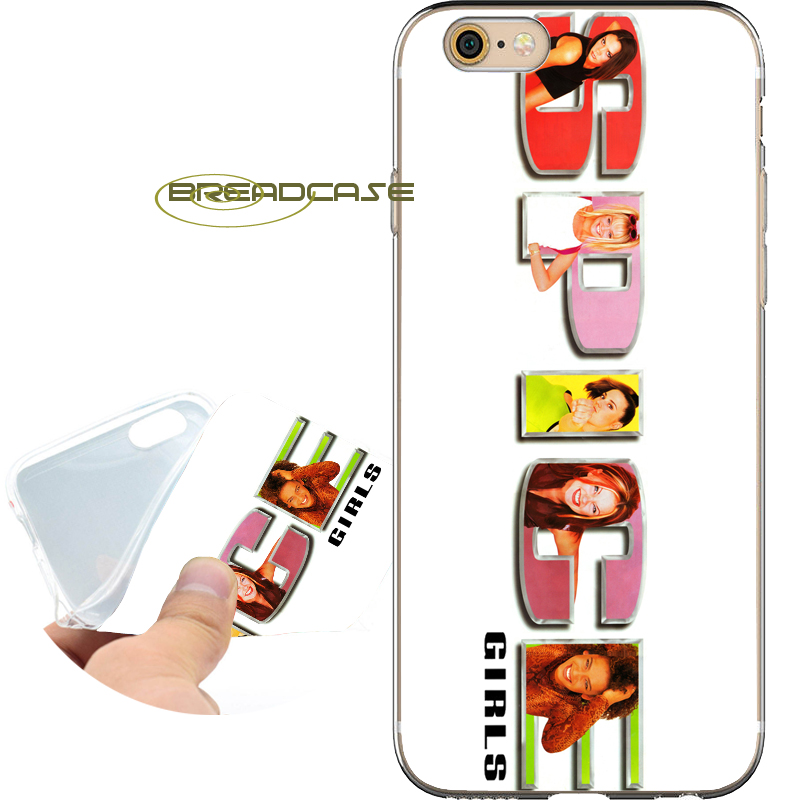 Coque Spice Girls Logo Soft Clear TPU Silicone Phone Cases for iPhone X 8 7 6S 6 Plus 5S SE 5 5C 4S 4 Case iPod Touch 6 5 Cover.