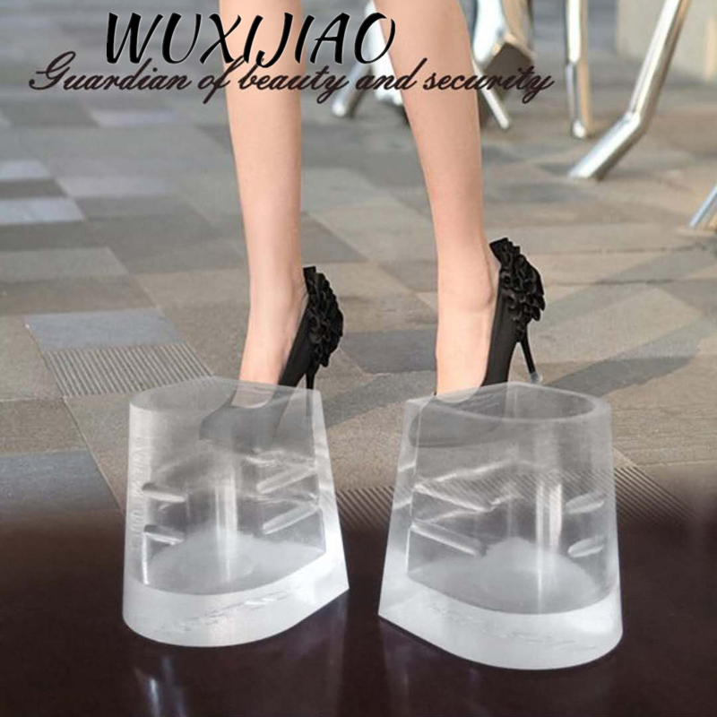 Latin Dance Shoes Ballroom Dance Heel Stoppers Antislip Silicone High Heeler Protector For 7.5 Cm / 9 Cm / 10 Cm / 8.5 Cm