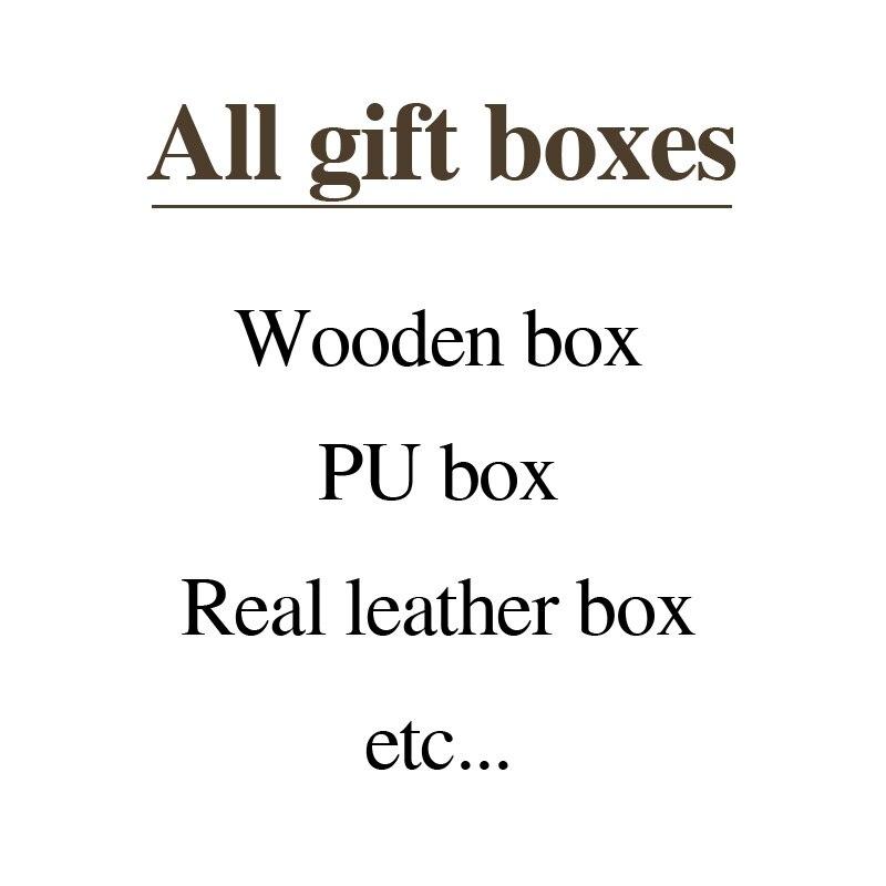 Personalized customization gift box/Jewel/Watch/Pen/Storage box -Made by Wood/PU/Leather Customized present box