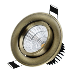 Image 5 - אירופאי COB Downlight 3 W/5 W/9 W/15 W AC85 265V Dimmable Downlight מנורה שקוע תאורה מקורה תאורה