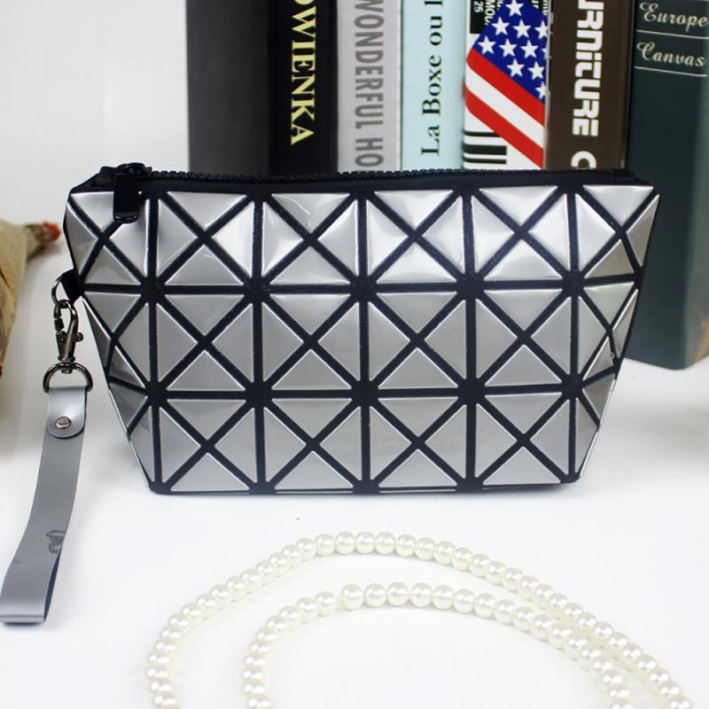 Luxury Bags Designer Geometry Clutch Bag For Women Fashion Makeup Bag Ladies Evening Clutches Party Handbag Totes Wristlets