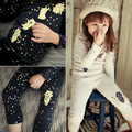 New Korean Girls Home Furnishing Suit Cotton Thick Warm Dot Cartoon Bear Underwear Set Kids Clothing
