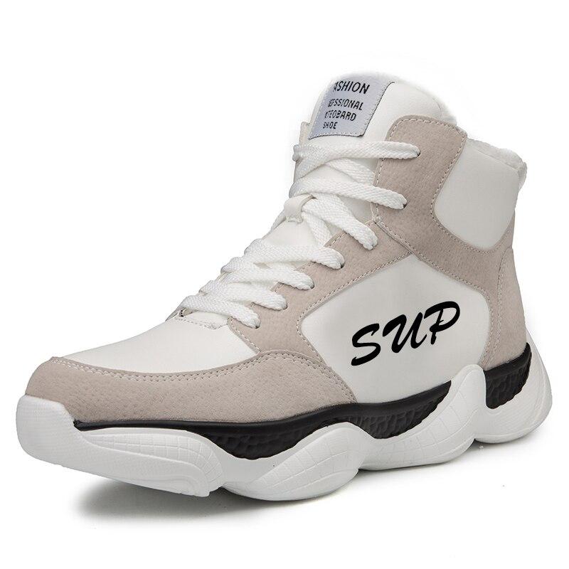 Surélévation Qualité Non Chaussure Haute white 909 Chaussures Haute Casual Sneaker 909 Plus slip Black Hommes Doux 909 Hiver Velours top gray Homme De Mode CO0ZxnAwq