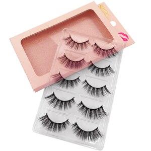 Image 1 - 100 คู่ขนตาปลอมขายส่งขนตาปลอมธรรมชาติMink Lashesแต่งหน้าขนตาปลอมขายส่งขนตาชุด