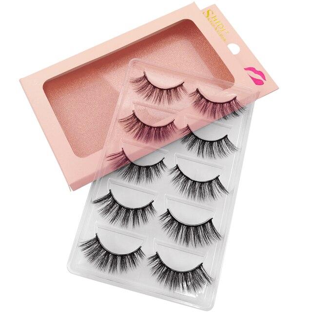 100 Pairs Mink Eyelashes Wholesale False Eyelashes Natural Mink Lashes Makeup False Lashes Wholesale Eyelash Extensions Kit