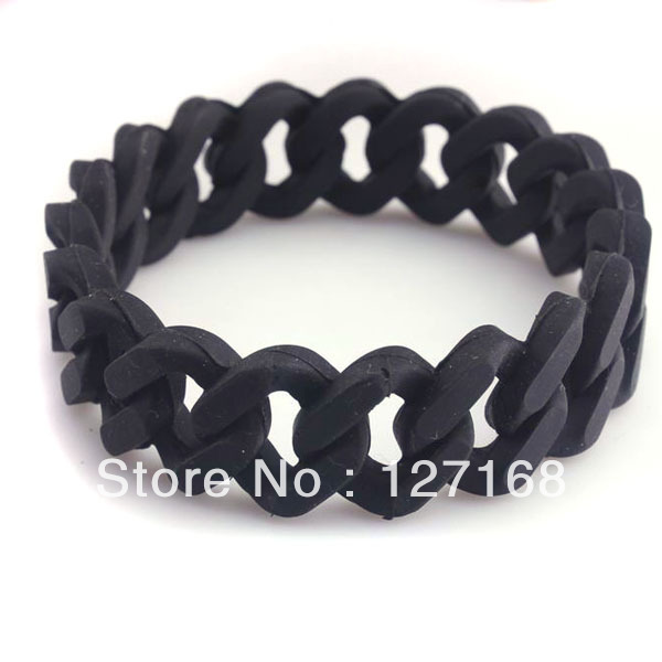 10pcs/lot Silicone Rubber Sport Wristband Cuff Bracelet Band Sz MEN WOMEN KID GLOW IN DARK Free Shipping For Gift