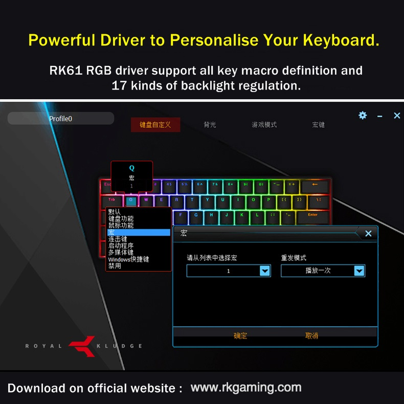 Royal Kludge Rk61 Mini Portable 61 Key Dual Mode Bluetooth Wireless Usb Wired Backlit Mechanical Keyboard Rk Axis Cherry Axis Keyboards Aliexpress