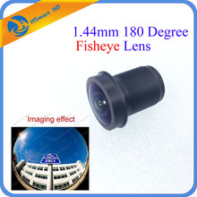 New 3.0MP Panoramic 1.44mm 180 Degree F2.0 1/3 inch M12 CCTV Lens Fisheye For 720P/1080P CCD Mini Camera DVR Systems