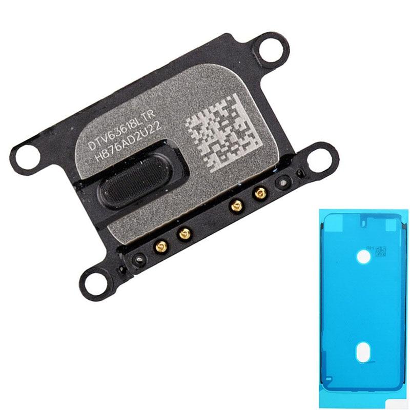 2pcs/set Waterproof Sticker + New Earpiece Flex Ear Speaker For IPhone 6S 6S Plus 7 8 8 Plus Listening Replacement Parts