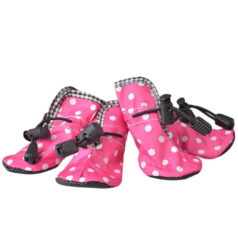 Zapatos para Perros mascotas Botines Producto Impermeable Al Aire Libre Delgada