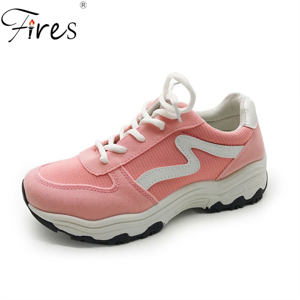 Fires Sneakers For Women Summer Running Shoes Femal Athletic Sports Breathable Black Whi ...