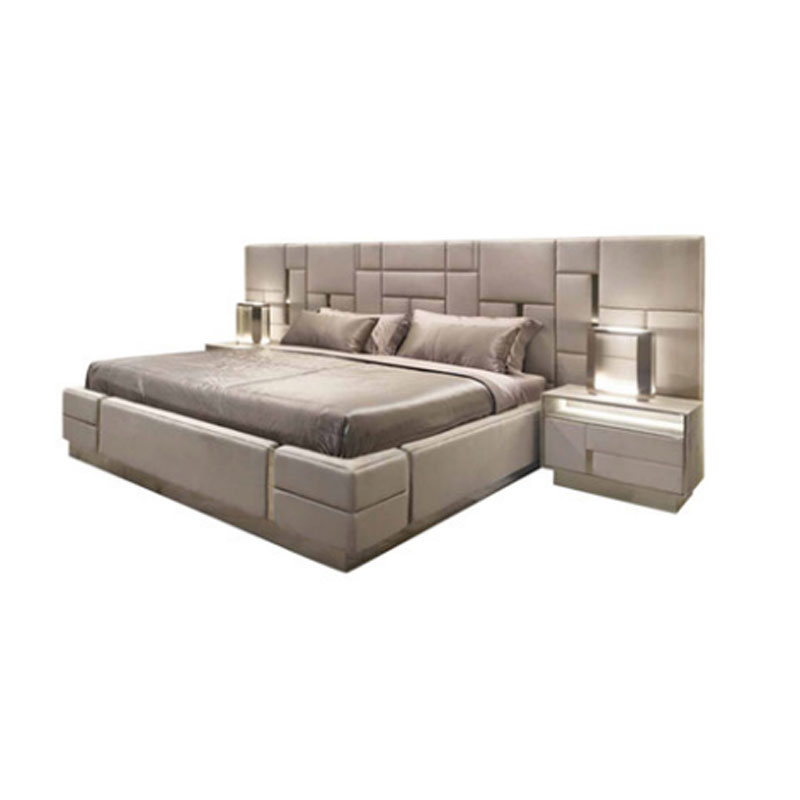 Bedroom Sets.Italian Latest Custom Bed Bedroom Furniture Modern Luxury Leather