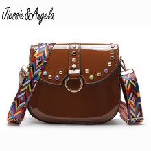 Jiessie&Angela Famous Brand Designer Handbag Fashion Women Messenger Bag Female Shoulder Bags Crossbody Purse Bolosa