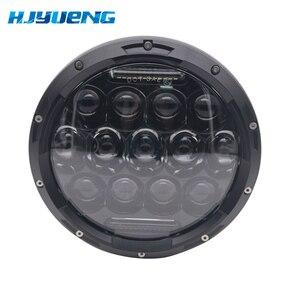 Image 4 - 7 inch LED Scheinwerfer Auto Angel Eyes DRL Tagfahrlicht für Yamaha Jeep Wrangler Scheinwerfer Auto Motorrad Zubehör