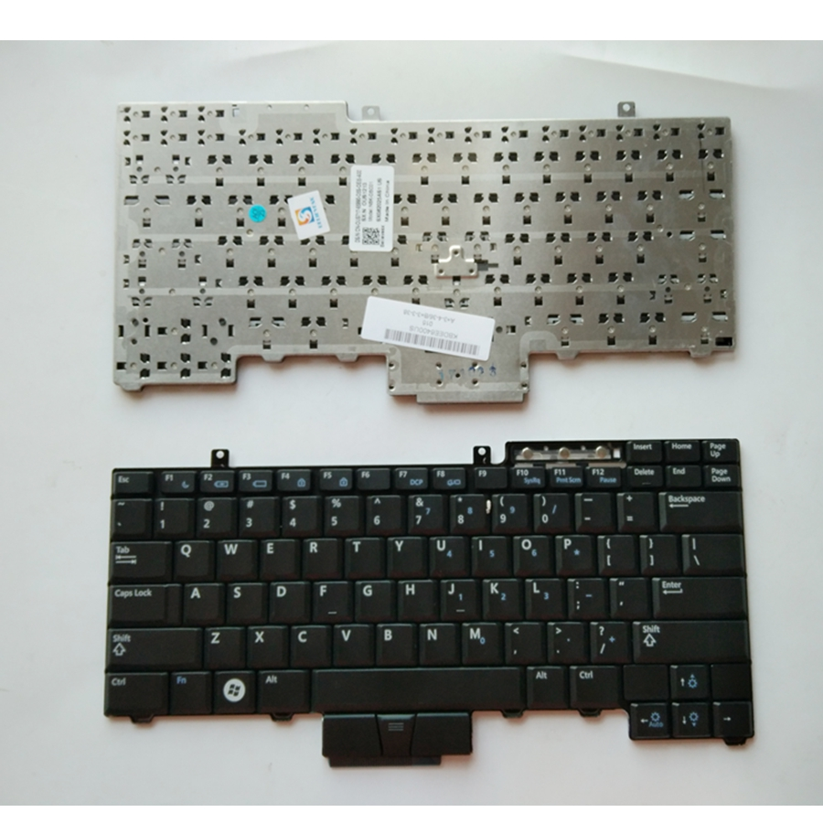 US New Replace laptop keyboard For Dell For Latitude E6400 E6410 E5500 E5510 E6500 E6510 M2400 M4400 No backlight image