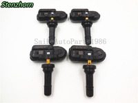 SET OF 4 NEW 2014 For RAM TRUCK CHEROKEE TIRE PRESSURE SENSORS TPMS 68157568AA USA