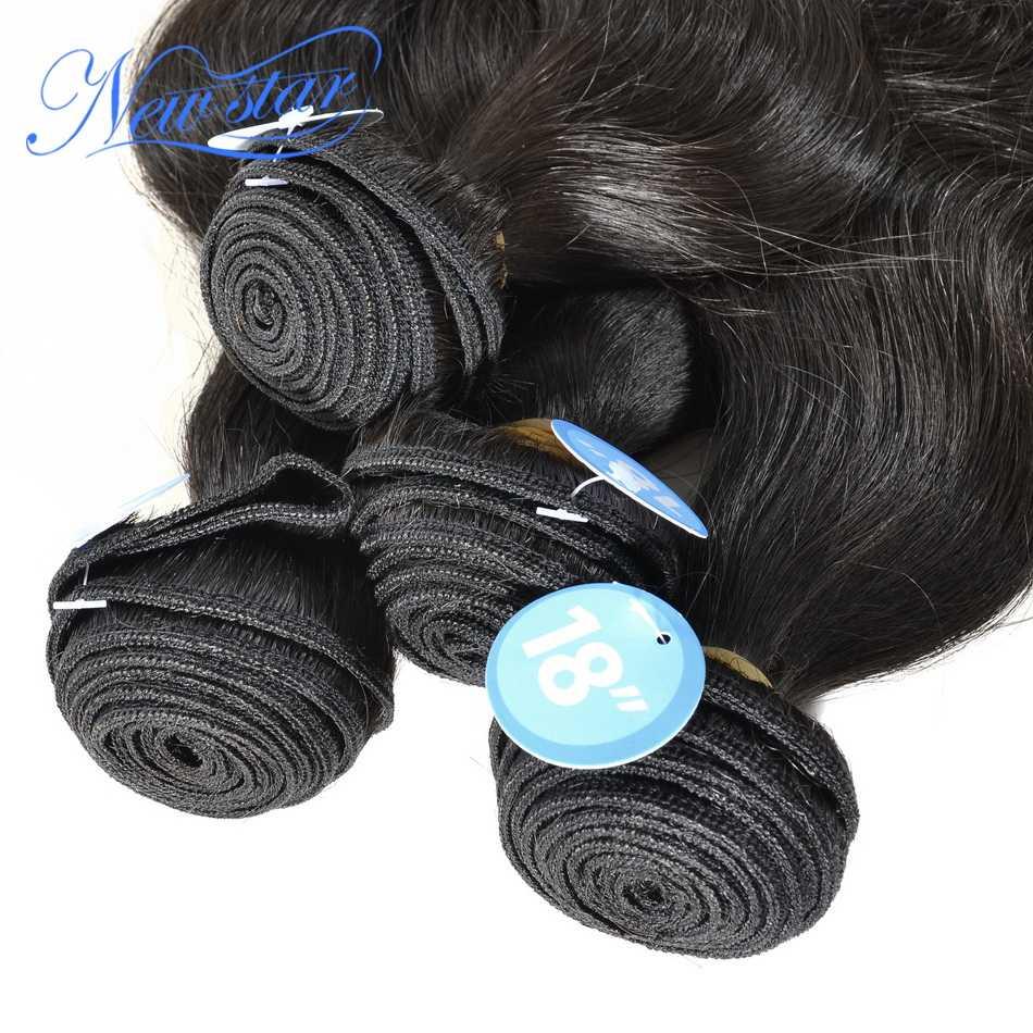 Nowa gwiazda peruwiański doczepy typu body wave 4 sztuk dziewicze włosy grube rozszerzenie splot włosy w naturalnym kolorze nieprzetworzone surowe włosy tkania